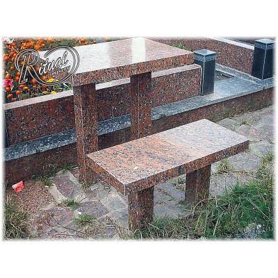 Стол с лавочкой 31L