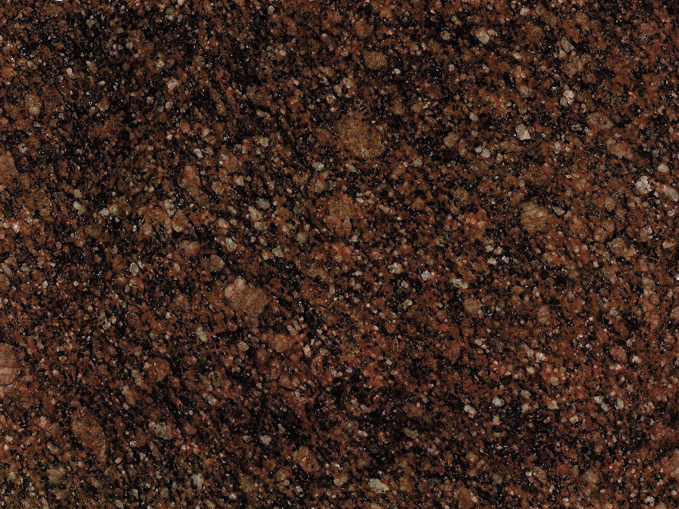 коричнево-красный гранит токовского месторождения